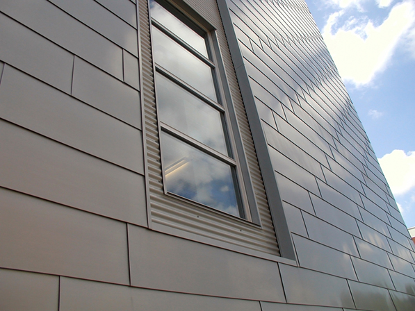 The Zinc Cladding On The Exterior Of Hach Hall, Provided By MetalTech USA,  Will Likely Have A Lifespan Of More Than 100 Years.