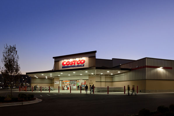 Costcos Huge Warehouse Stores Hardly Take Any Time To Build The Company Manufactures Many Of Its Large Building Components Off Site So Just Two Crews