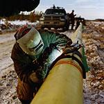 Alliance Pipeline_Tioga Lateral welding