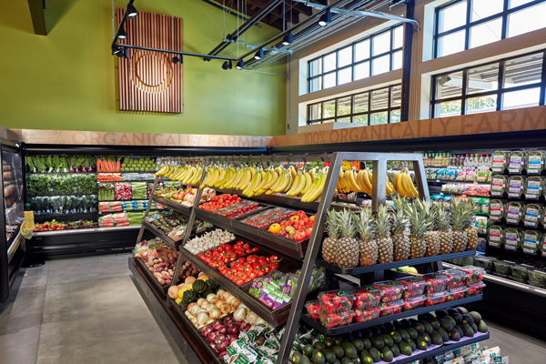 Raley's Market 5-ONE-5 produce section