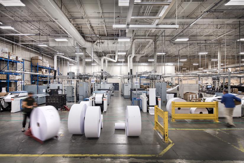 Symcor warehouse interior